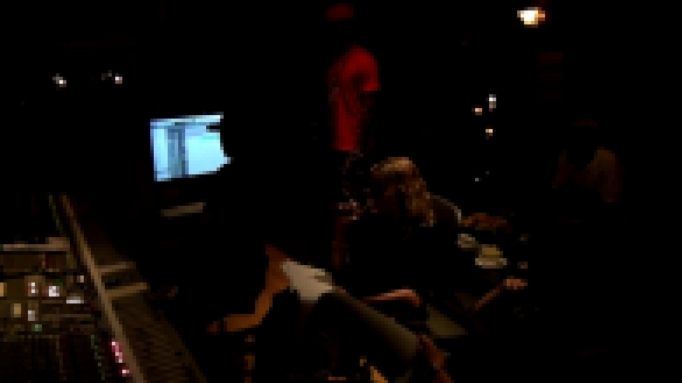 Recording the MDNA album with Madonna & Nicki Minaj (15 September 2011)