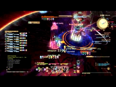 Final Fantasy XIV: ARR - Final Coil Of Bahamut T13 Ao's Warrior PoV