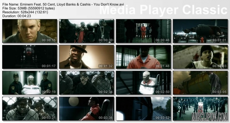 50 Cent feat Eminem, Lloyd Banks & Cashis - You Dont Know Баста - Моя Игра 2006 instr