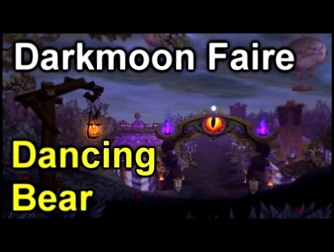 Darkmoon Dancing Bear [Darkmoon Faire] | World of Warcraft: Mists of Pandaria
