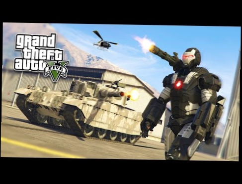 GTA 5 PC Mods - WAR MACHINE Iron Man Mod!!! GTA 5 War Machine Mod Gameplay! GTA 5 Mods Gameplay