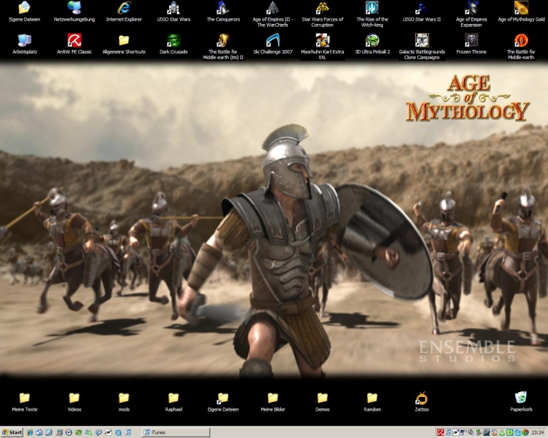 Age of Mythology - Hotlantis