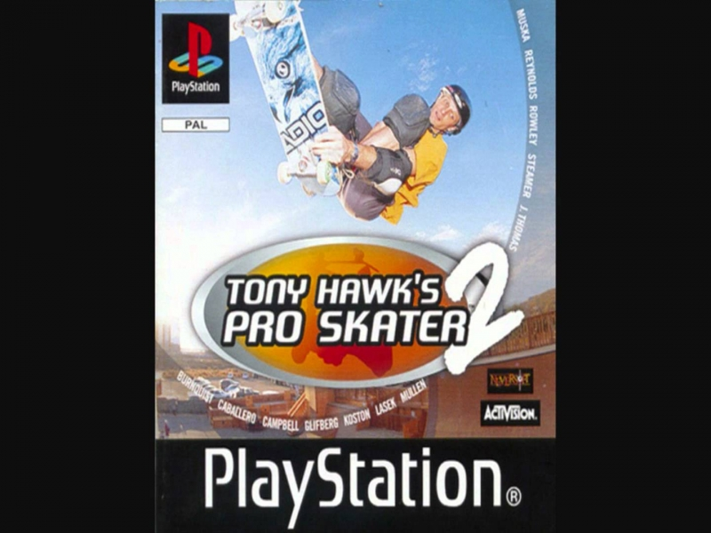 Alley Life & Black Planet - Out With The Old OST Tony Hawk\'s Pro Skater 2