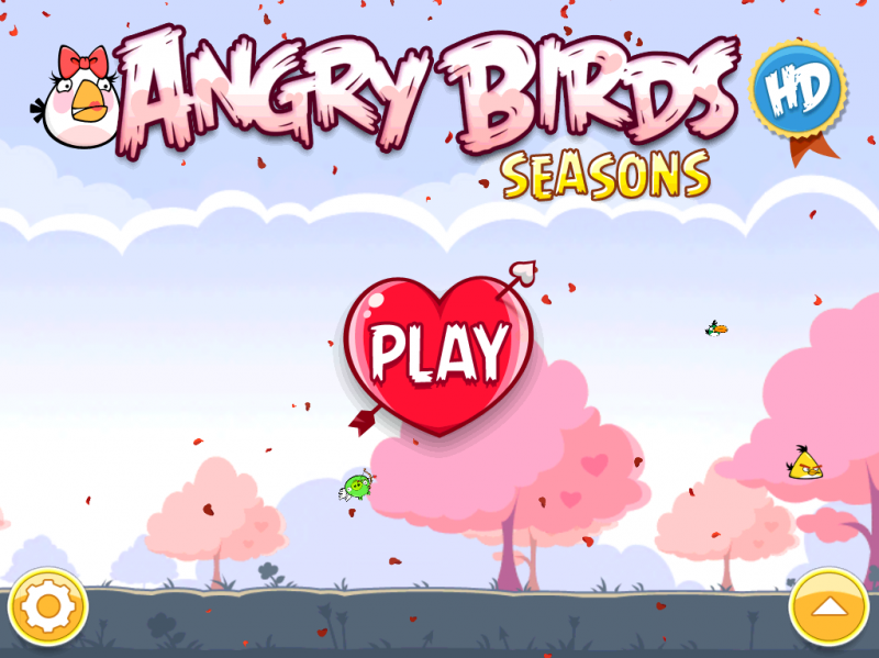 Angry Birds Seasons - Valentine's Day