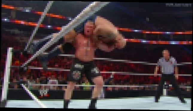 Brock Lesnar vs Big Show - Royal Rumble 2014
