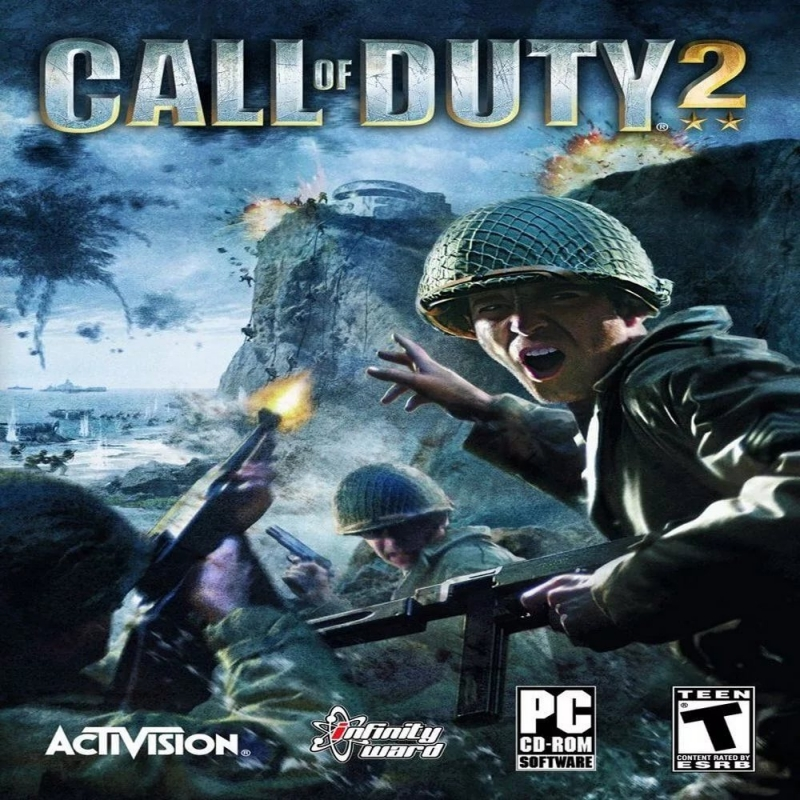Call Of Duty 2 2005 soundtreck - Charge of the Crusaders