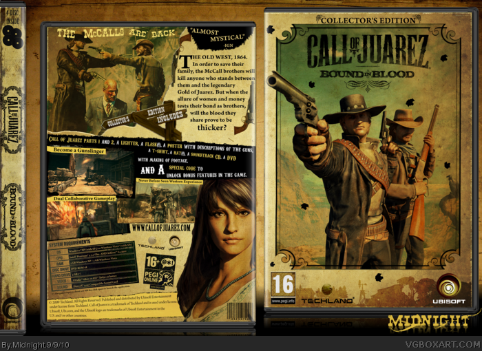 Call of Juarez Bound in Blood OST - Kansas