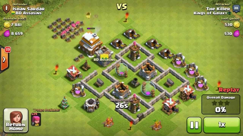 Clash of Clans - demo