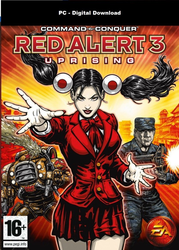 Command & Conquer Red Alert-3 Uprising - Loosing 1