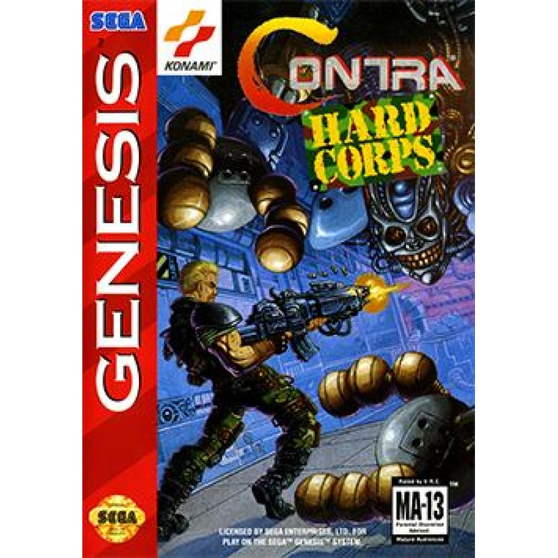 Contra Hard Corps - The DawnGenesis VA3