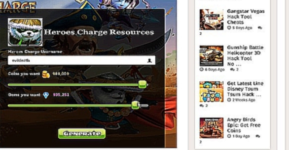 Heroes Charge Unlimited Resources