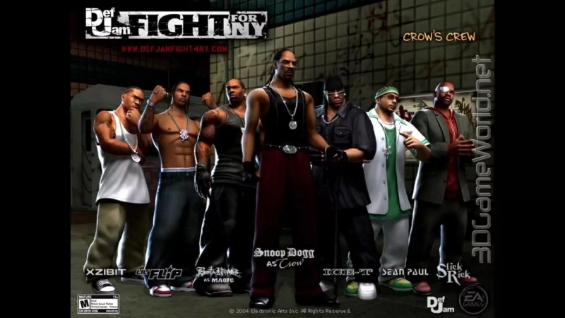 Def Jam Fight For NY - See About Ya Loading Screen