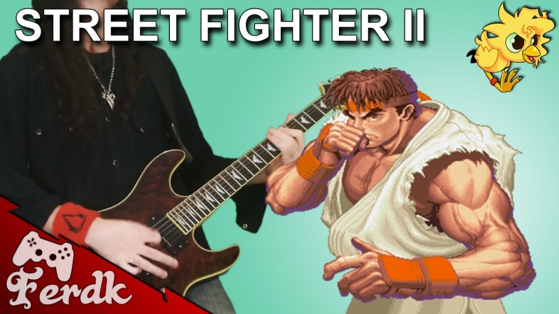 Dendy Music - Street Fighter Ryu Theme Metal Cover