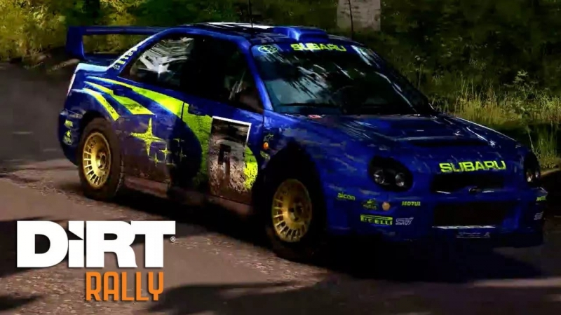 DiRT Rally - Flying Finland Audio rip from trailers, w