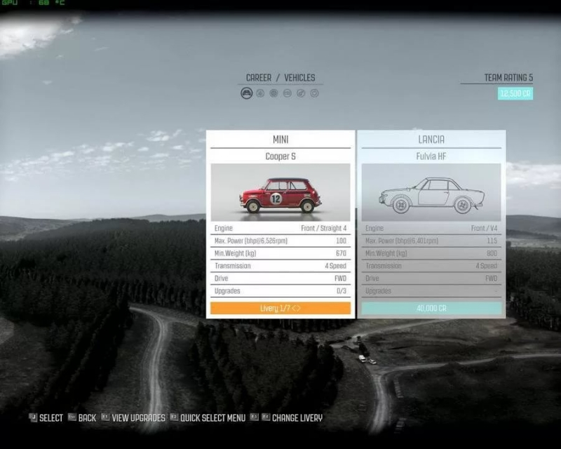 DiRT Rally - Menu theme