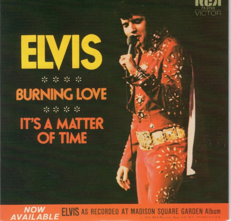 Elvis Presley - Burning Love  план игры