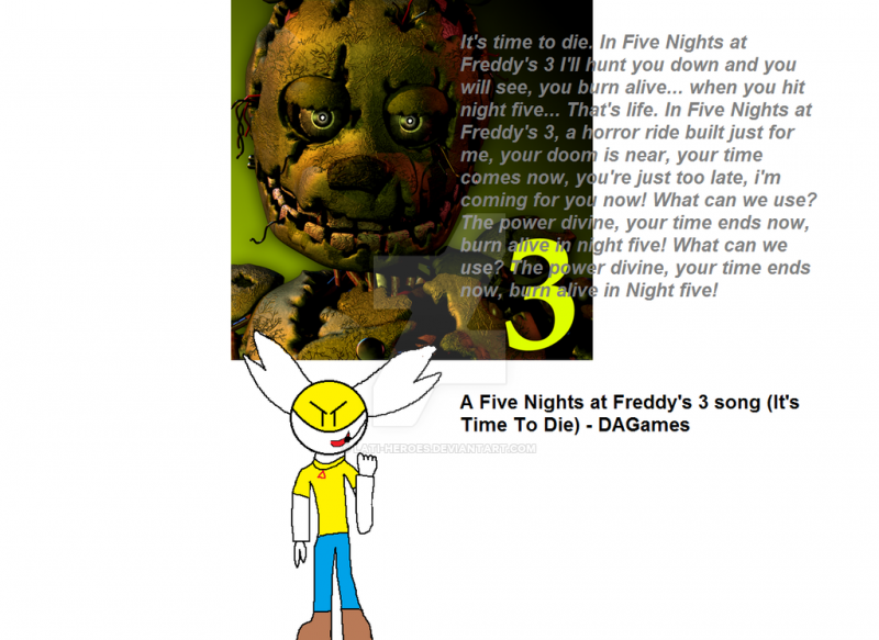 Five Nights at Freddy's 3 - It's Time to Die