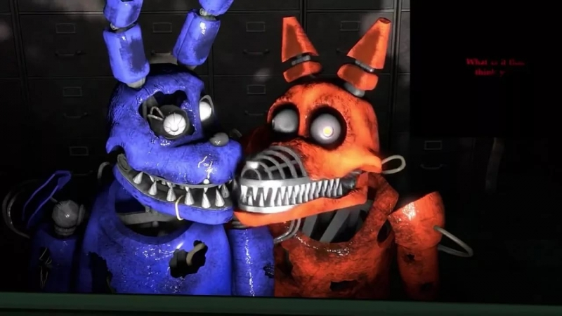 FNAF - Animatronic's talk
