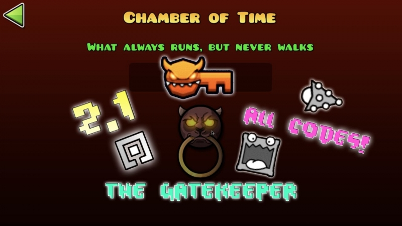 "Geometry Dash - Vault ""Chamber of time"""
