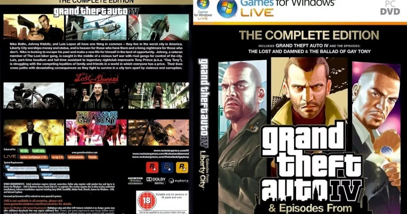 GTA 4-Episodes from Liberty City - The Theme From Grand Theft Auto IV