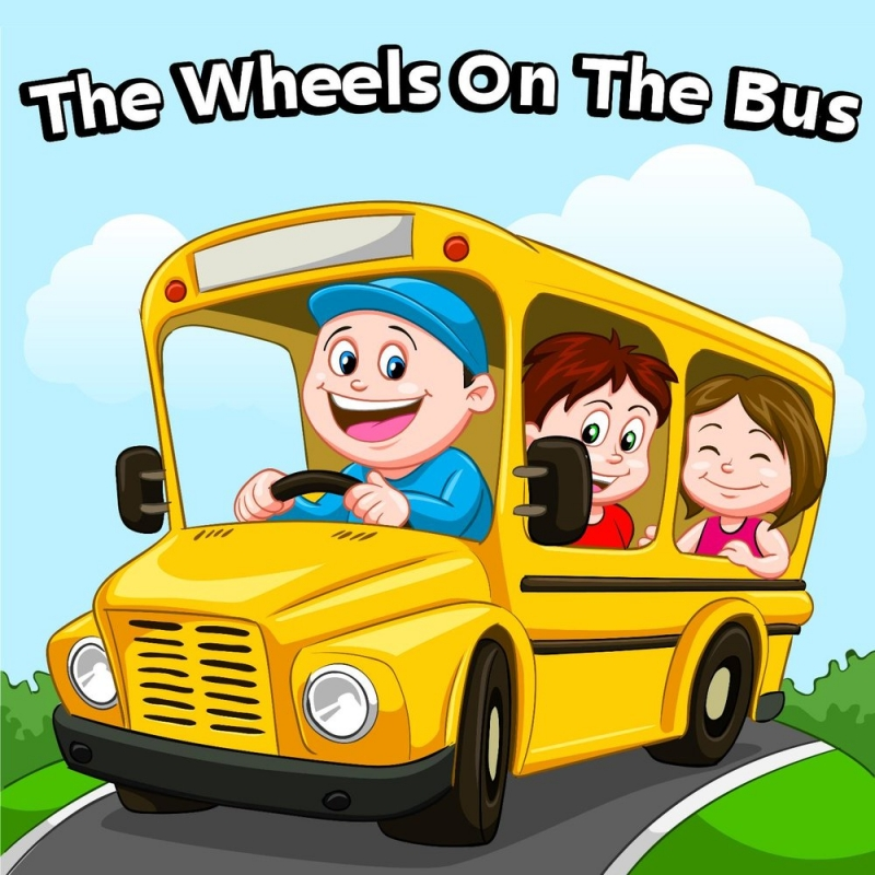 Happy Kids Band - The Wheels On The Bus
