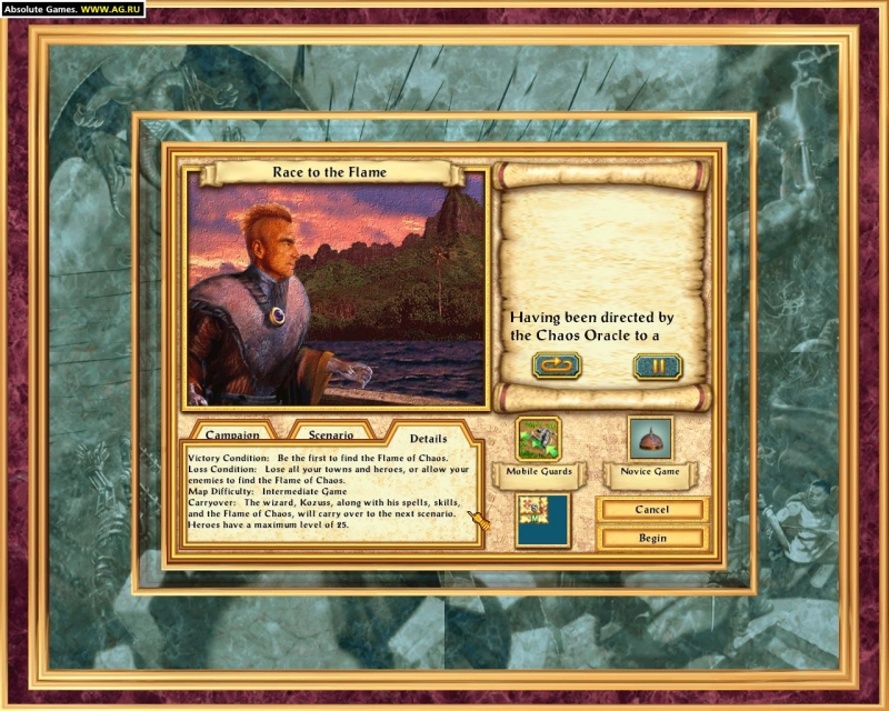 HOMM 4 - The Gathering Storm (Heroes of Might and Magic 4)