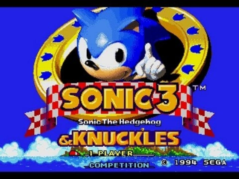 JemenJ - sonic 3 act 2 boss sonic and knuckles