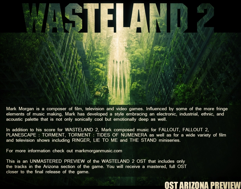 Mark Morgan - Radiation Cloud Wasteland 2 OST