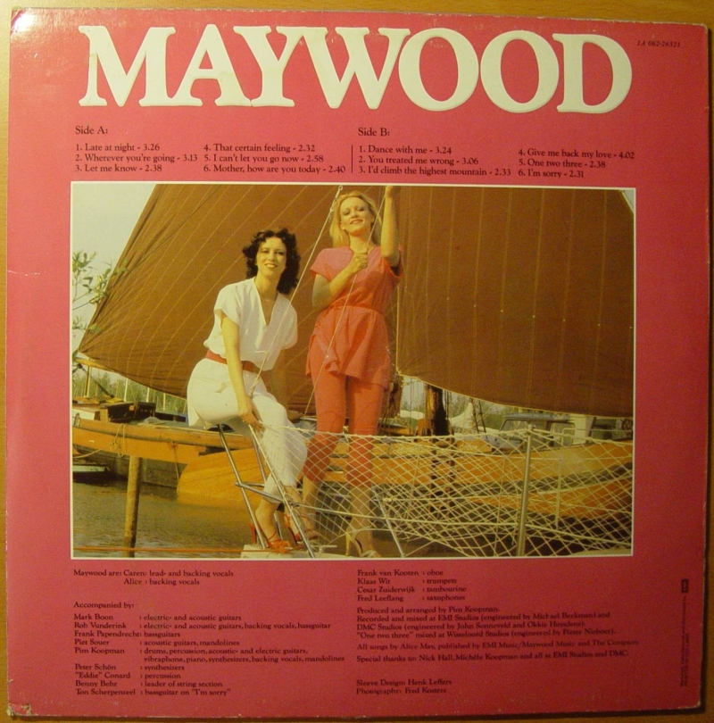 "Maywood - One Two Three Альбом-""Late At Night""-1980"