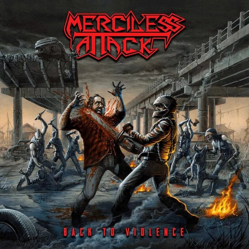 Merciless Attack - The island of the dead