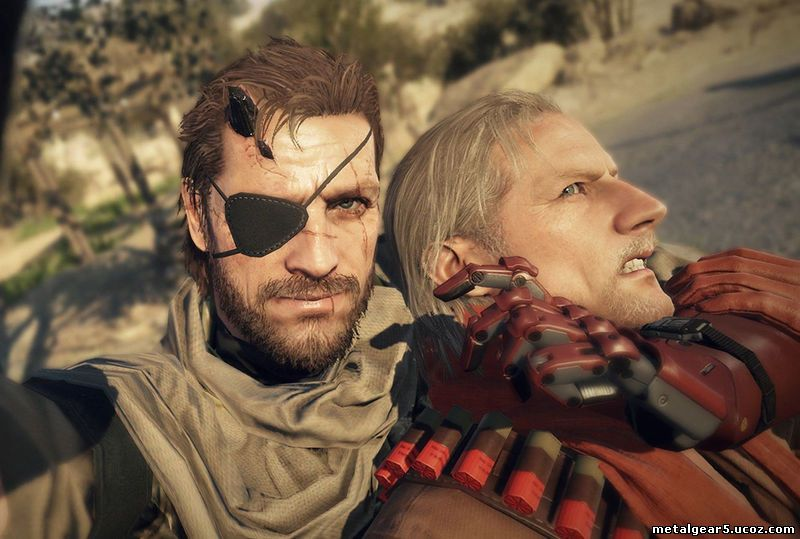 Metal Gear Solid 5 The Phantom Pain - Game Over