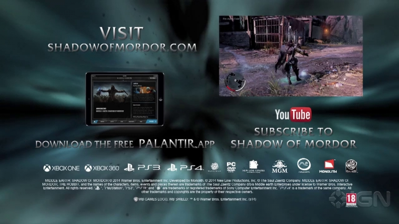 Middle-Earth Shadow of Mordor OST - The Gravewalker Pause