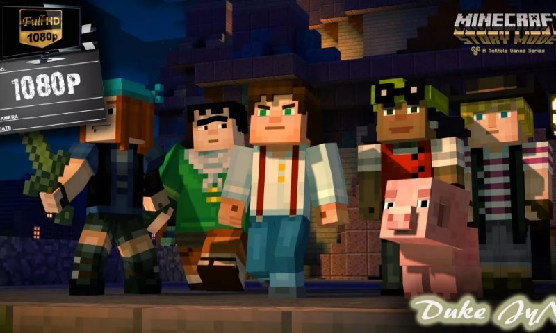 Minecraft Story Mode - All in one