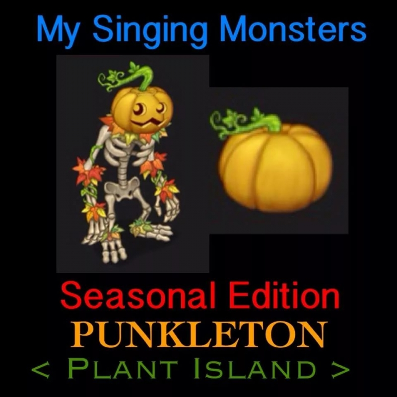 [My singing Monsters] Plant Island - Punkleton