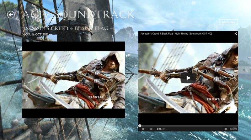 Assassin's Creed 4 Black Flag Soundtrack HD Gameplay Reveal OST
