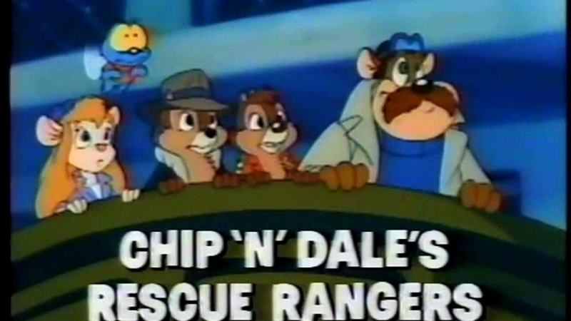 Chip and Dale Rescue Rangers Theme Song - Portuguese