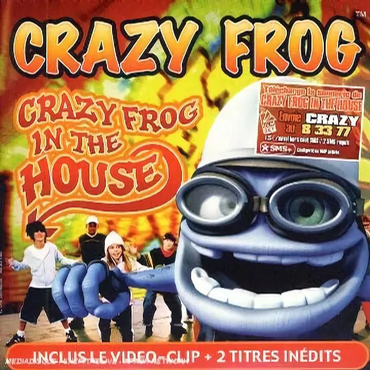 Crazy Frog - In the House