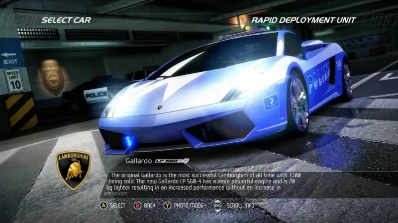 Need for Speed Hot Pursuit - Police Chase OST 1
