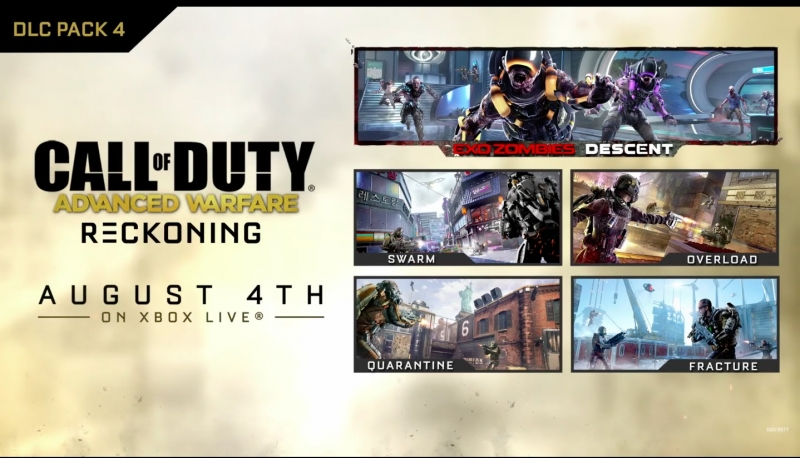 Official Call of Duty- Advanced Warfare - Reckoning DLC 4 Gameplay Trailer