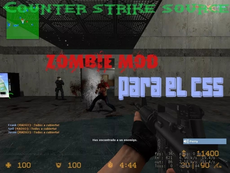 Counter Strike Source Zombie Mod