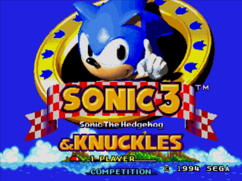 paragon_x9 - death egg, power up sonic and knuckles, smd