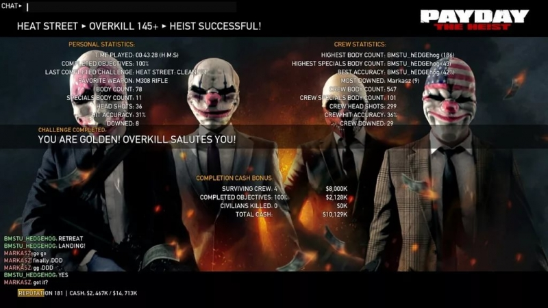 Payday The Heist OST - Success
