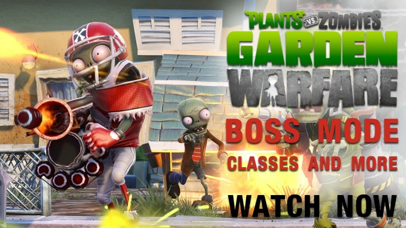Plants vs. Zombies Garden Warfare - Excessively Bossy
