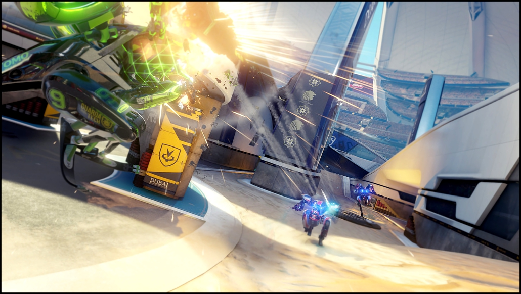 Новый геймплей RIGS Mechanized Combat League