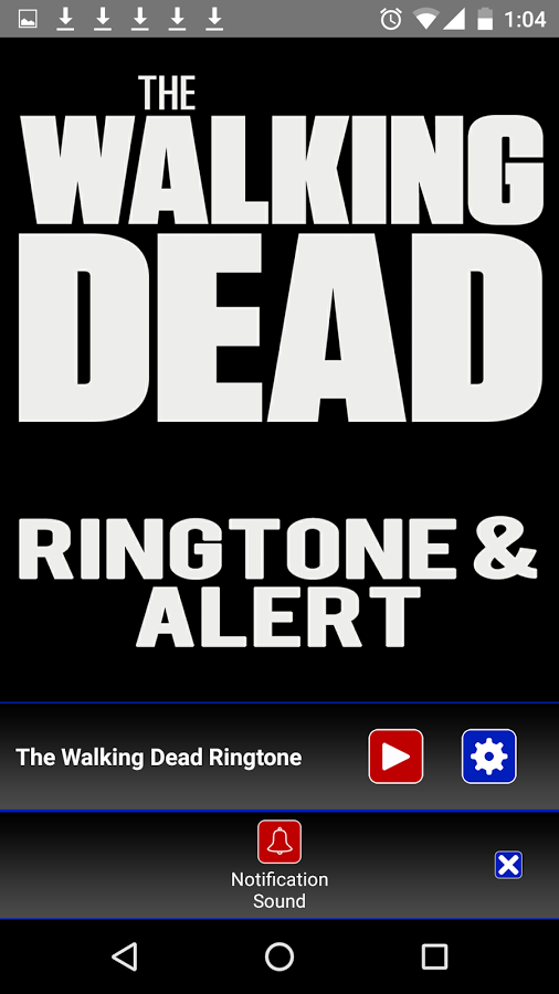 Ringtone Theme Busters - The Walking Dead