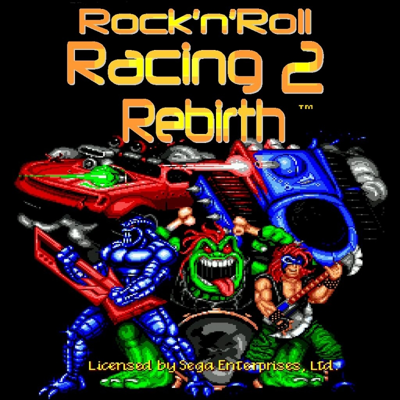 Rock n' Roll Racing [SEGA] - Born to be Wild by Steppenwolf