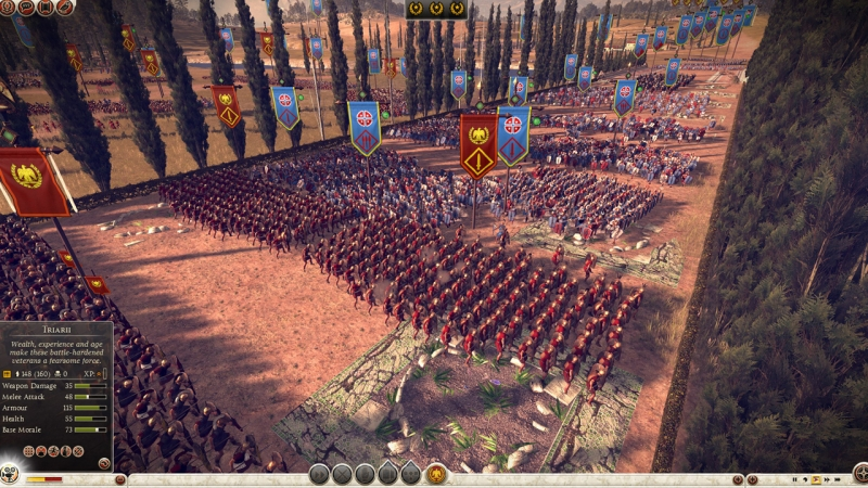 Rome Total War - Distribution of Army