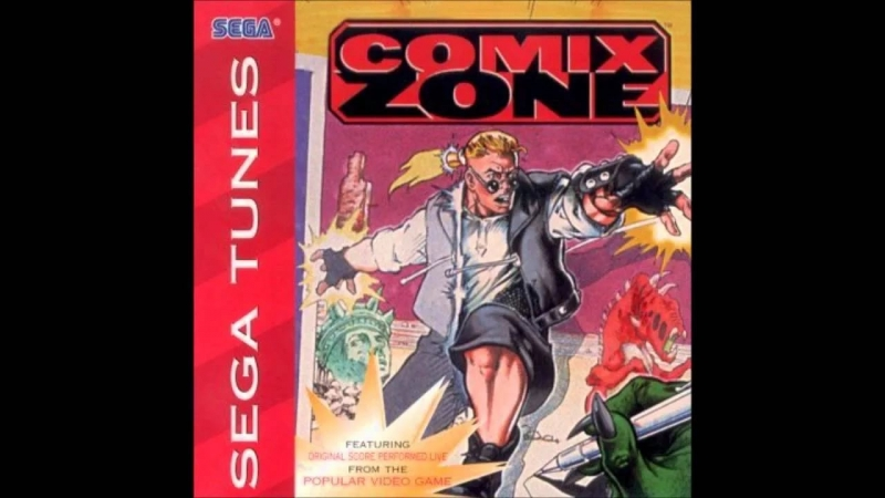 Sega Tunes Comix Zone - Howard Drossin - Last To Follow