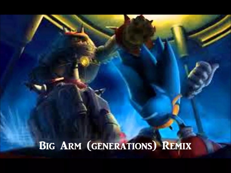 Sonic Generations Sound Team - Boss Battle Big Arms