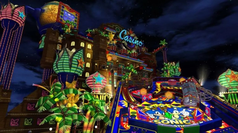 Sonic Generations Sound Team - Casino Night Pinball